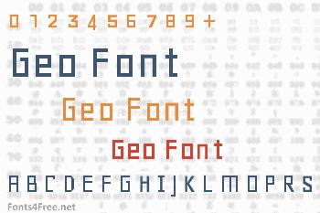 Geo Font