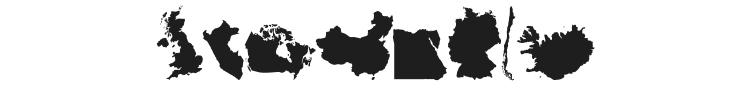 GeoBats Font Preview