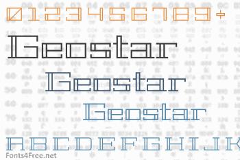 Geostar Font