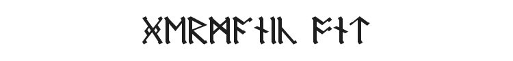 Germanic + Dwarf + AngloSaxon Font Preview