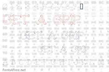 Get A Grip Font