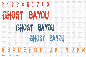 Ghost Bayou Font