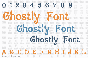 Ghostly Font