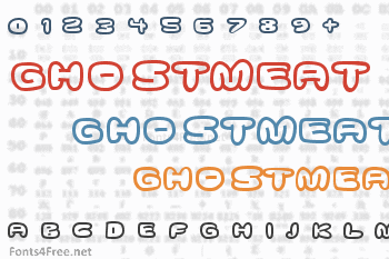 Ghostmeat Font