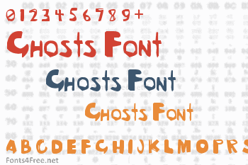 Ghosts Font