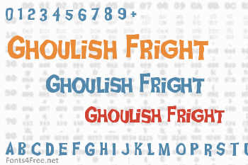 Ghoulish Fright Font