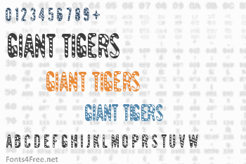 Giant Tigers Font