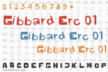 Gibbard Erc 01 Font