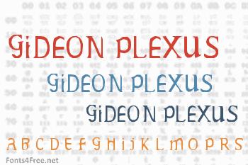 Gideon Plexus Font