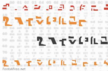 Giedi Ancient Autobot Font