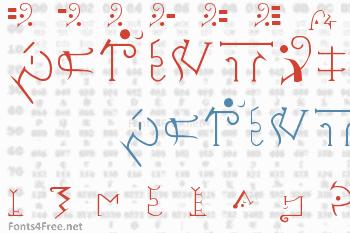 Giedi Predacon Font