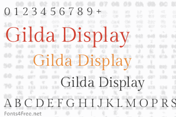 Gilda Display Font