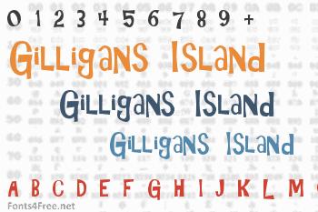 Gilligans Island Font