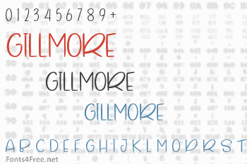 Gillmore Font