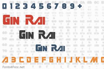 Gin Rai Font
