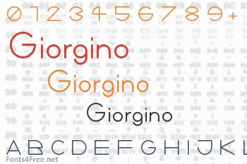 Giorgino Font