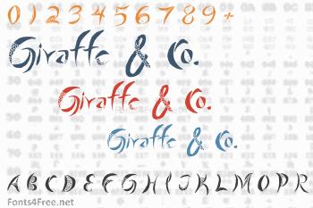 Giraffe & Co. Font