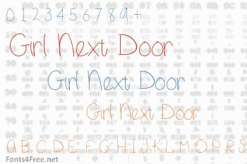 Girl Next Door Font