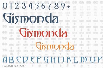 Gismonda Font