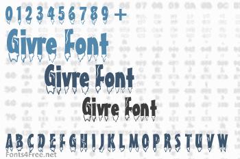 Givre Font