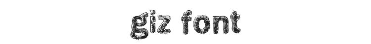 Giz Font