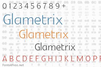 Glametrix Font