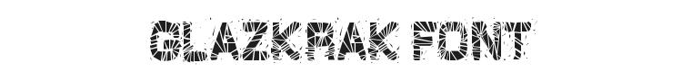 GlazKrak Font