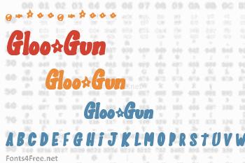 Gloo-Gun Font