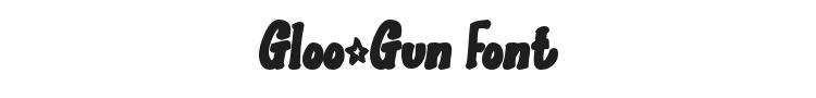 Gloo-Gun Font Preview