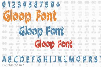 Gloop Font