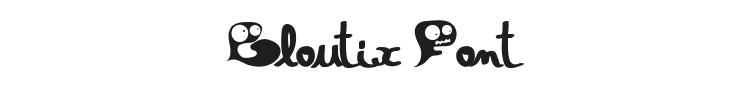 Gloutix Font Preview