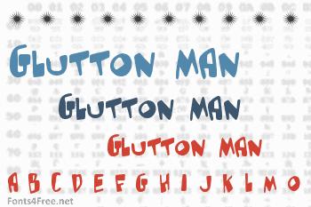 Glutton Man Font