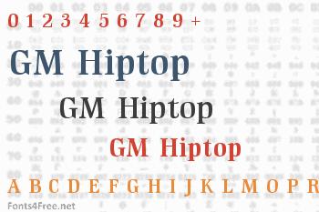 GM Hiptop Font