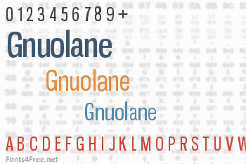 Gnuolane Font