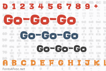 Go-Go-Go Font