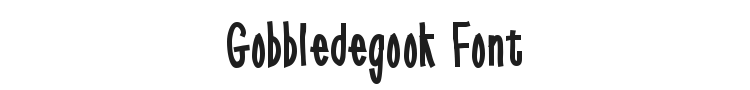 Gobbledegook Font
