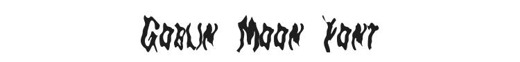Goblin Moon Font Preview
