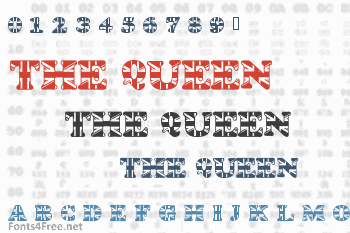 God Save The Queen Font