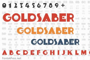Goldsaber Font