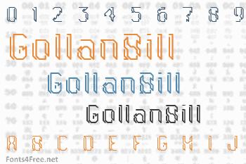 GollanBill Font