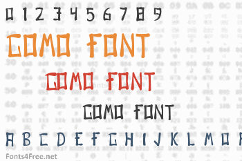 Gomo Font