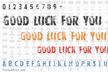 Good Luck For You Font