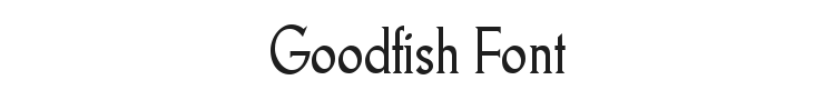 Goodfish Font Preview