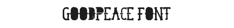 GoodPeace Font Preview