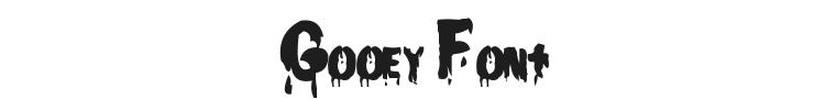 Gooey Font