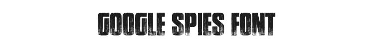 Google Spies Font