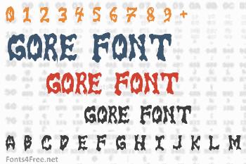 Gore Font