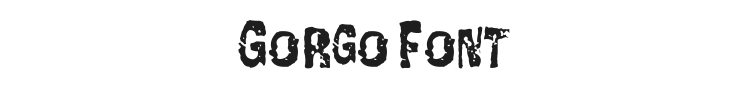Gorgo Font Preview