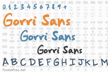 Gorri Sans Font