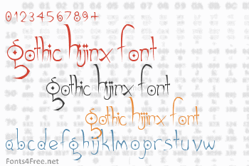 Gothic Hijinx Font
